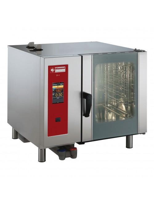 SDGT/6-CL-AGA Gas Combi Oven Touchscreen Direct Steam / Convection 6 X GN1/1