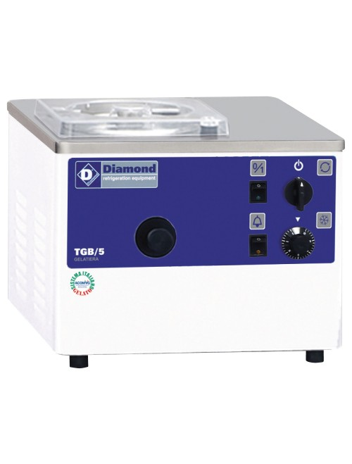 TGB/5 Vertical Ice-Cream Turbine Table Top 5L/H