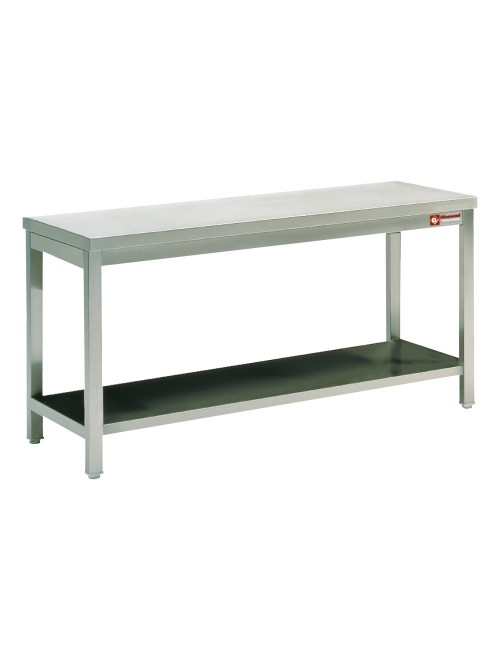 TL2071 SS Work Table With Lower Shelf 2000W