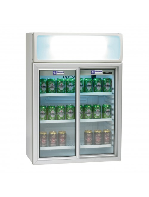 TOP11/T Countertop Display Fridge 100L Capacity