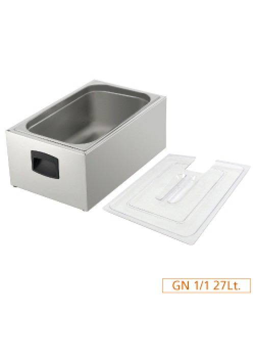V1/1C Sous Vide 1/1GN Tank with Lid Only