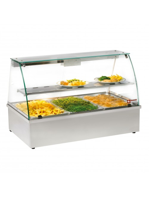 VBE-311 Panoramic Bain Marie Countertop Warmer