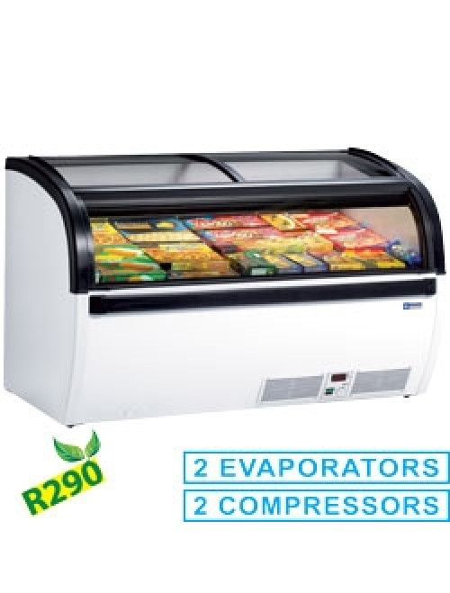 VISUAL-15-R2 Cold Vision Panoramic Deep Freezer