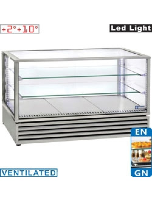 VRDG-X2 Panoramic Refrigerated Display Case