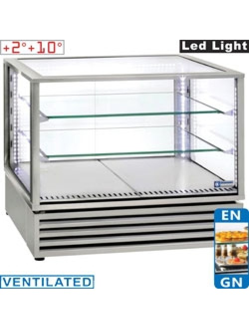 VRDP-X2 Panoramic Refrigerated Display Case